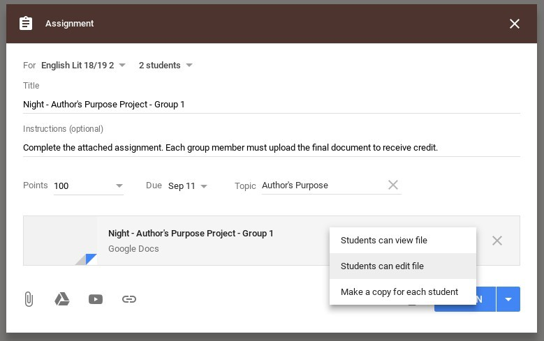 How to Manage Group Assignments in Google Classroom - The